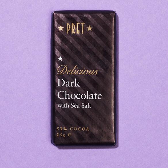 Dark Chocolate with Sea Salt