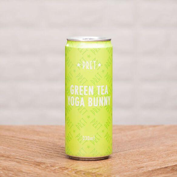 Pure Pret Sparkling Green Tea Yoga Bunny