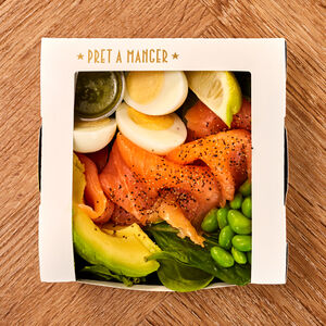 Smoked Salmon Protein Box