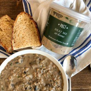 Soup - Pret's Mushroom Risotto