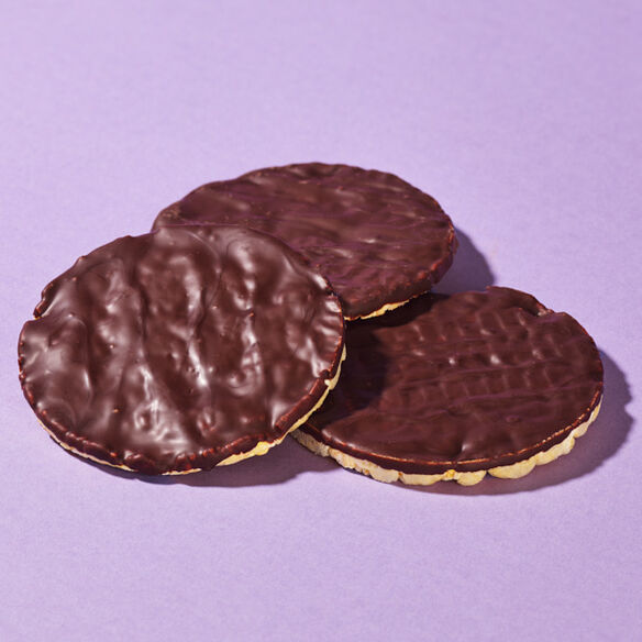 Dark Chocolate Corn Cakes