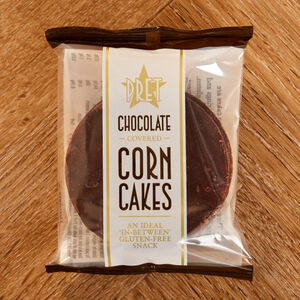 Dark Chocolate Corn Cakes
