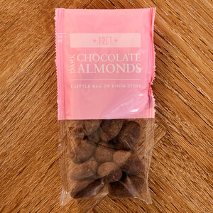 Dark Chocolate Salted Almonds