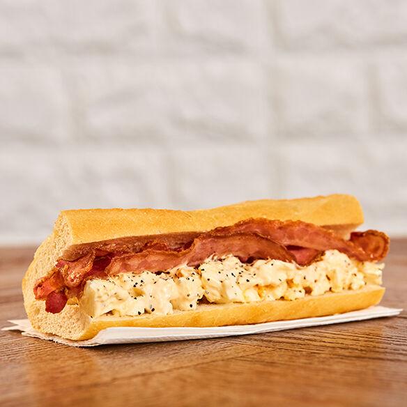 Breakfast Egg & Bacon