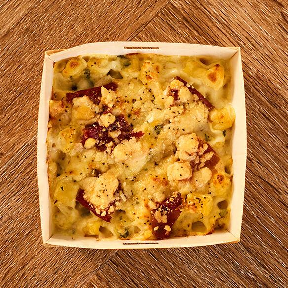 Macaroni Cheese Prosciutto