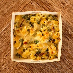 Macaroni Cheese Kale & Cauli