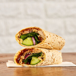 Hoisin Duck Salad Wrap