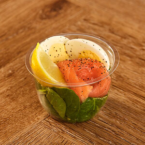 Smoked Salmon & Egg Protein Pot
