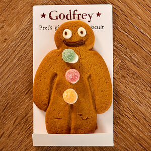 Pret's Gingerbread Biscuit