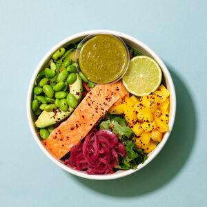 Salmon and Mango Salad Bowl