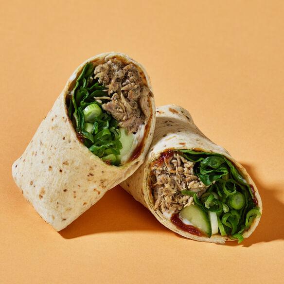 Hoisin Duck Salad Wrap
