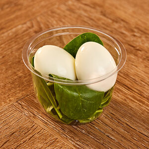 Egg & Spinach Protein Pot