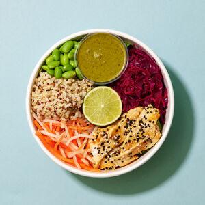 Tamari & Ginger Chicken Salad Bowl